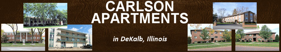 Carlson Apartments in DeKalb, Illinois